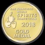 San Francisco Spirits Award Gold Medal
