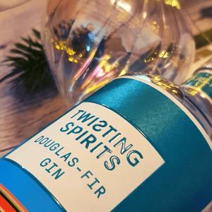 Christmas tree gin